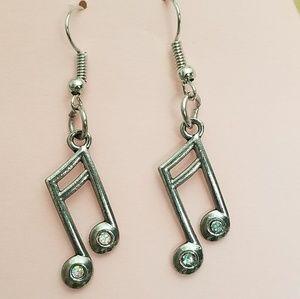 Handmade Music Earrings
